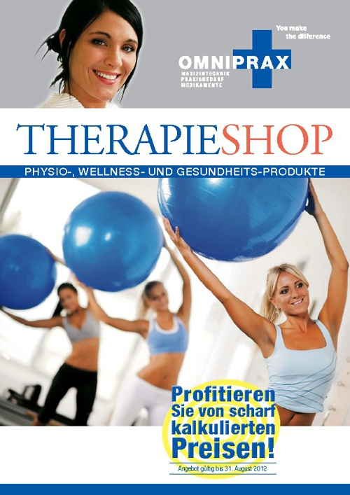 Omniprax Therapieshop-Katalog 2012