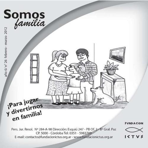 "Boletín ""Somos Familia"" N°26 - 2012"