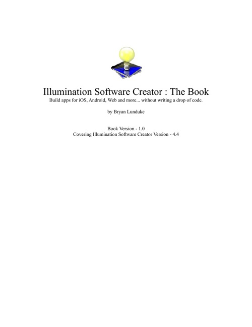 illumination Software Creator Book