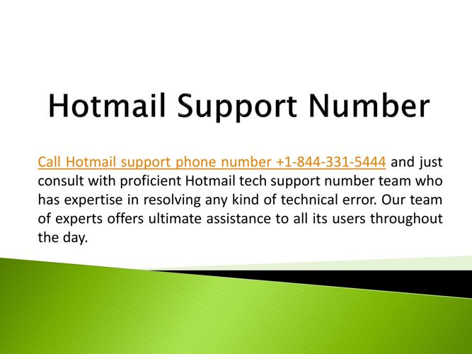 Contact Hotmail Support Number for Quick Help