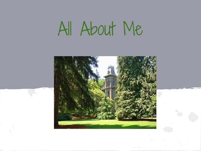 All About Me - Alyson