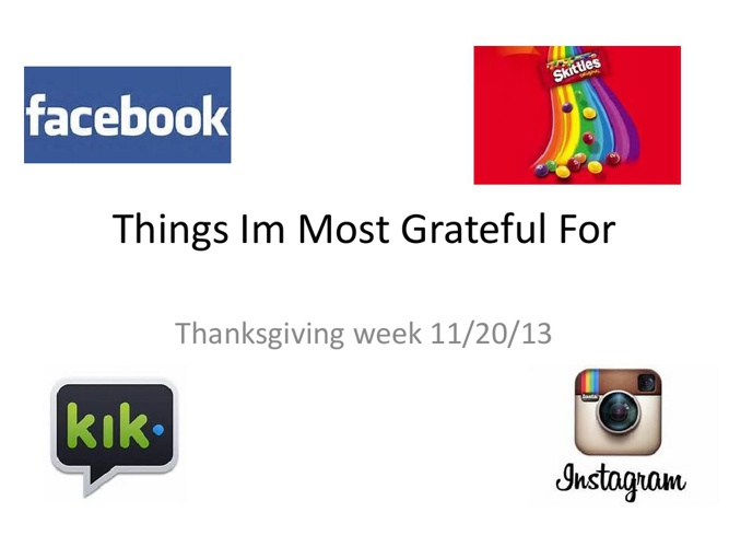 Things im most grateful for