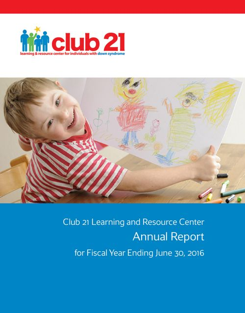 Club 21 2015-2016 Annual Report