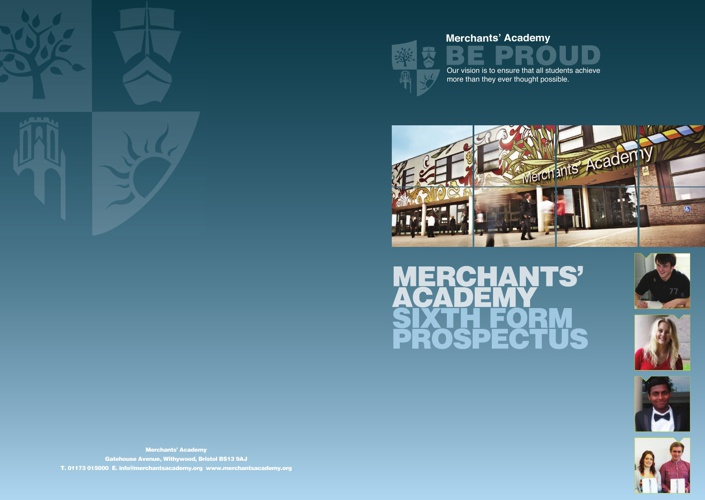 Merchants' Academy Sixth Form Prospectus
