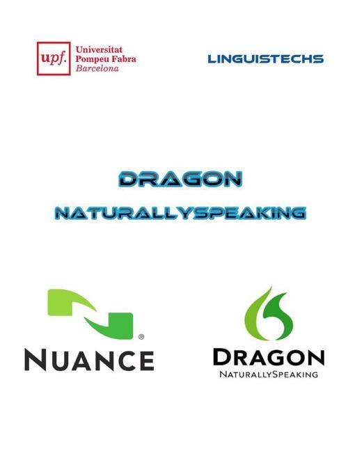 SPEECH 2 TEXT - Dragon Naturally SpeakingGreen