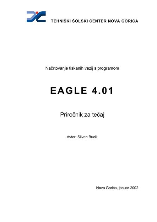 Eagle priročnik