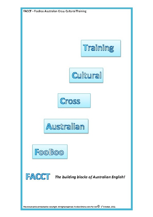 FACCT Introductory Kit