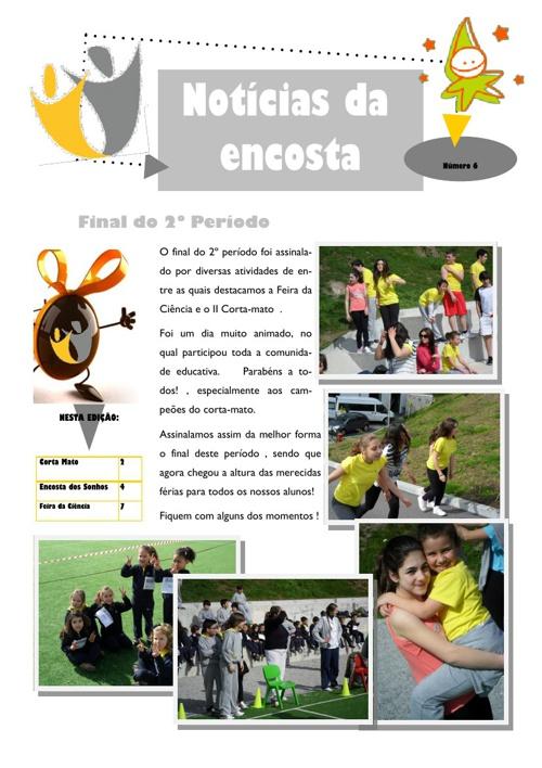Newsletter Março 2013