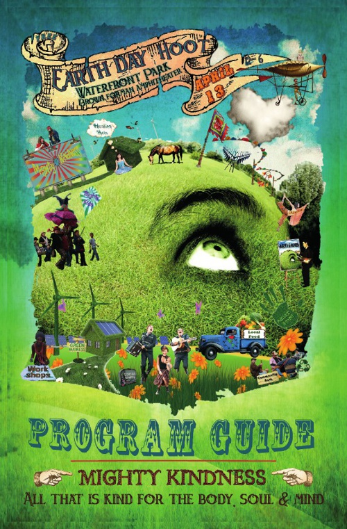 2013 Official Mighty Kindness Earth Day Hoot Program Guide