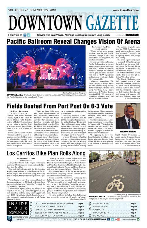 Downtown Gazette  |  November 22, 2013