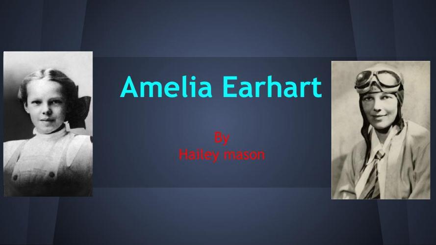 Amelia Earhart      Flip Book H.M