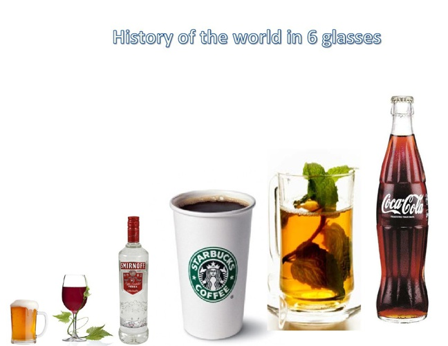 History of the world through 6 glasses