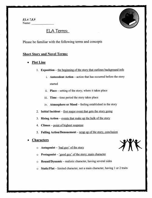 English Terms