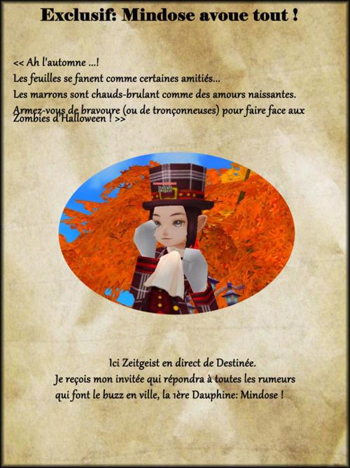 L'Histoire de Mindose, Volume I