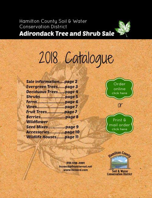 2018 Tree and Shrub Catalogue