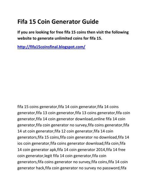 Fifa_15_Coin_Generator_Guide