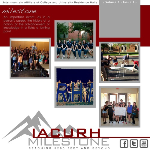 IACURH Milestone Volume 9 Issue 1