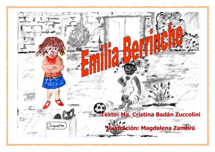 """Cuento """"Emilia Berrinche"""""""