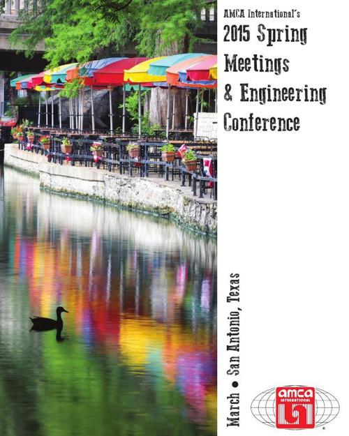 2015 AMCA Spring Meetings & Engineering Conference