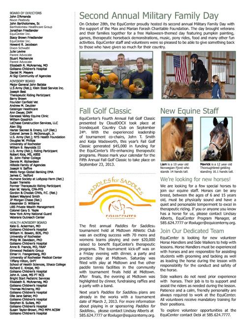 December EquiCenter Post 2012
