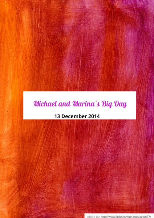 Michael and Marina's Big Day