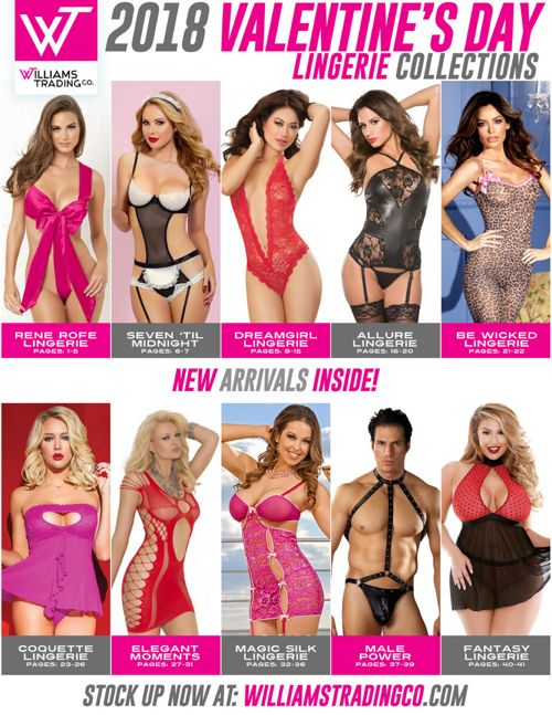 2018 Valentine's Day Lingerie Collections