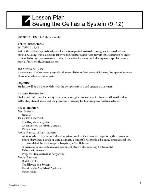Systems Handbook DRAFT