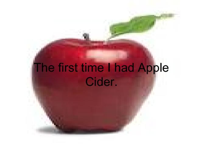 Appple cider