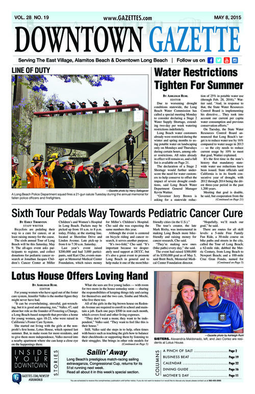Downtown Gazette  |  May 8, 2015