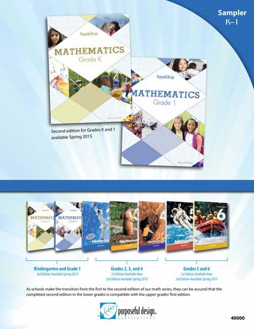 Sampler Math Kindergarten and Grade 1