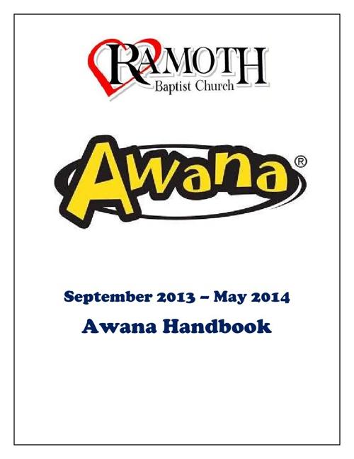 2013-2014 Awana Clubs Handbook