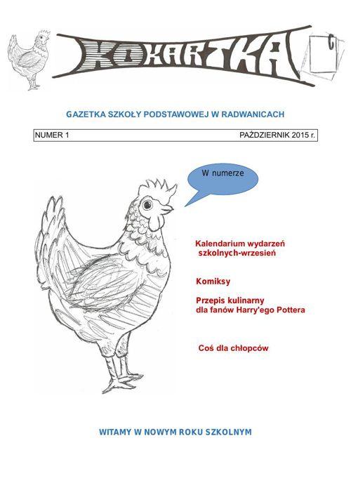 Gazetka szkolna - Październik 2015
