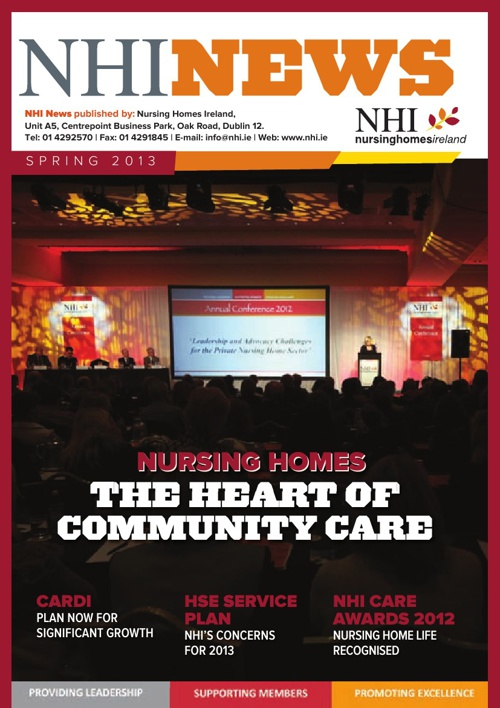 NHI News Spring 2013