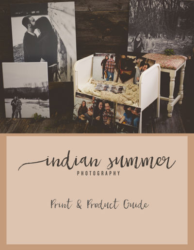 Indian Summer Photography | Product Guide