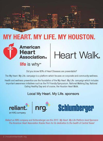 2016 Houston Heart & Stroke Walk Communications Recap