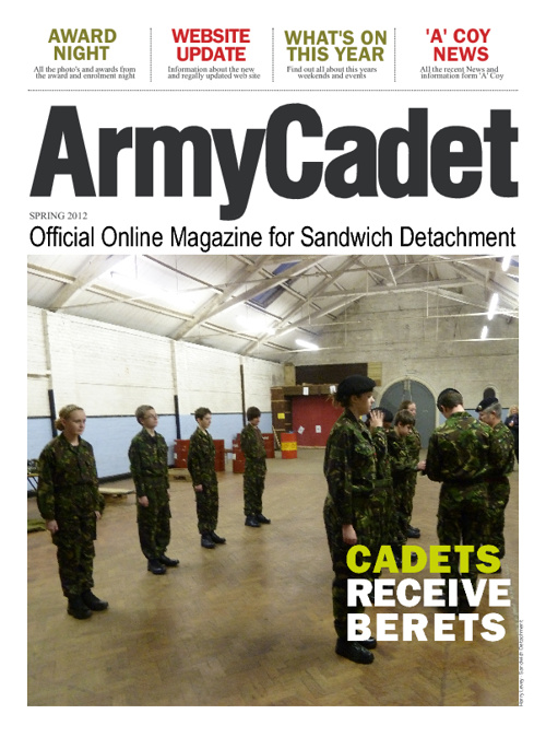 Sandwich Army Cadet Force