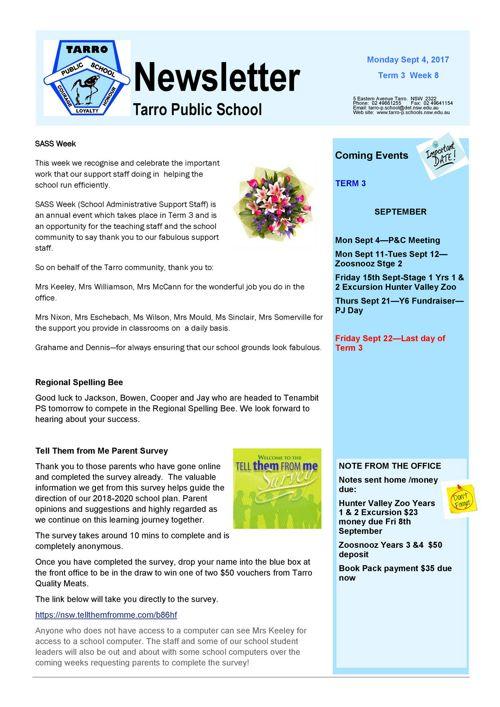 Newsletter Sept 4 2017 PDF