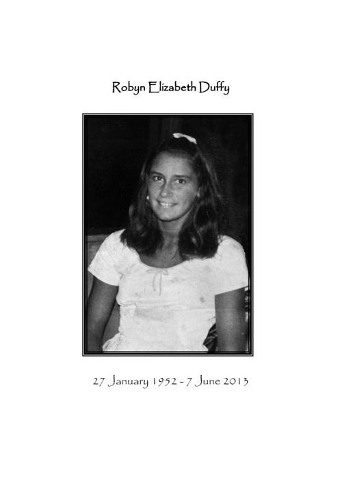 Robyn Duffy