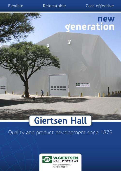 W.Giertsen Hallsystem - Brochure