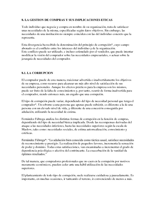 TEORÍA DE COMPRAS