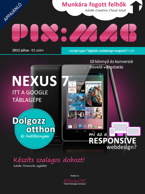 PIX:MAG 2012/01 Július