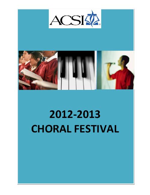 Choir Chairman Handbook