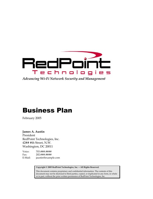 RedPoint Technologies
