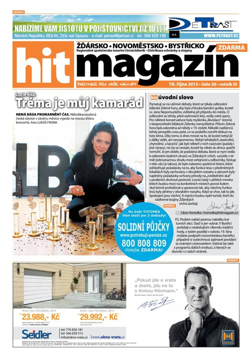 Hit magazín č.20 2013