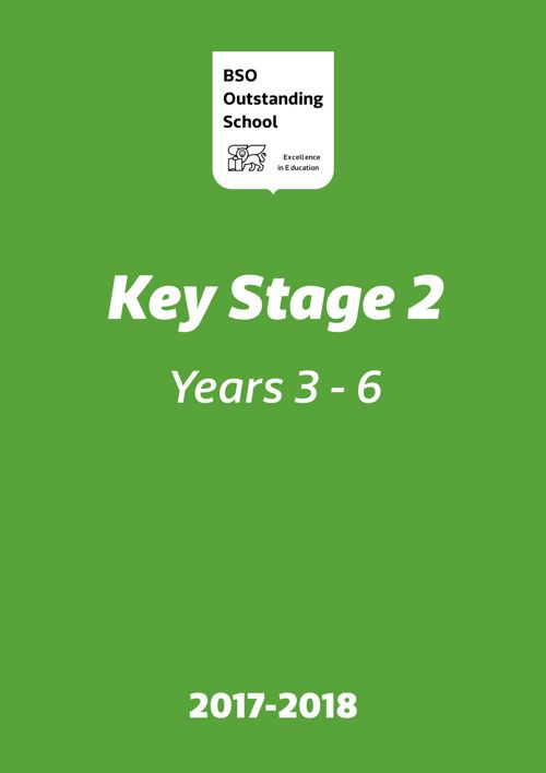 Manual informativo para padres de Key Stage 2- 2016.17