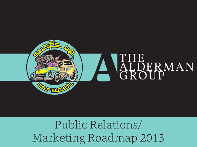 Surf's Up Public Relations/Marketing Roadmap 2013