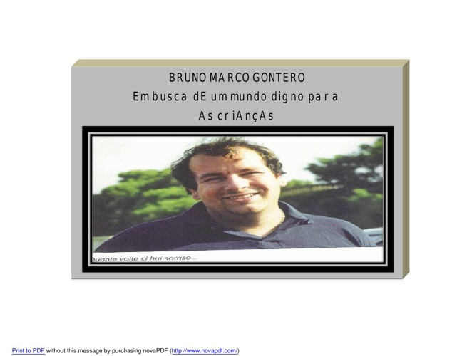 Linha do Tempo de Marco Bruno Gontero