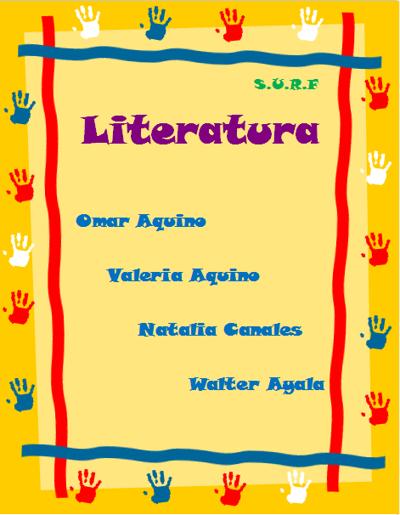 Copy of GÉNERO LÍRICO