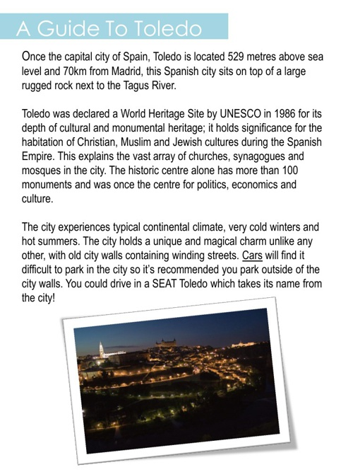 A Guide To Toledo