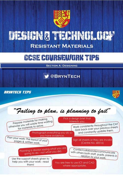 GCSE Help Booklet A5